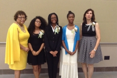 Mrs. Sandra Reddick and Dr. Bernice Duesler Celebrate the Scholarship Winners