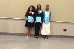 Our Three Outstanding Scholarship Winners